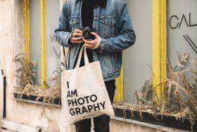 Torba lniana - I am photography