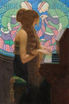 Musica Sacra - Edward Okuń reprodukcja obrazu