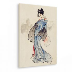 Gejsza - Katsushika Hokusai - reprodukcja