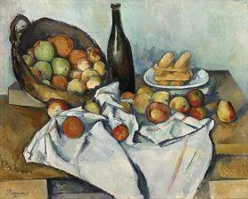 Kosz z jabłkami Paul Cézanne