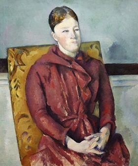 Paul Cézanne - Madame Cézanne in a Yellow Chair
