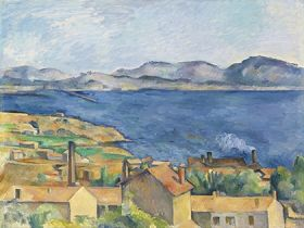 Paul Cézanne - The Bay of Marseille, Seen from L'Estaque