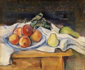 Paul Cézanne - Fruit on a Table