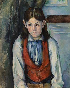 Paul Cézanne - Boy in a Red Vest