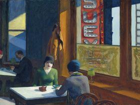 Chop Suey - Edward Hopper - reprodukcja