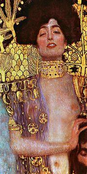 Judyta z głową Holofernesa - Gustav Klimt - reprodukcja