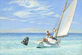 Fala denna - Edward Hopper - reprodukcja