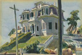 Dom Haskella - Edward Hopper - reprodukcja