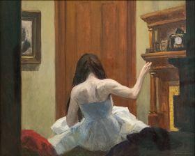 Wnętrze Nowego Jorku - Edward Hopper - reprodukcja