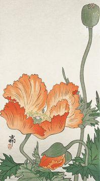 Kwiaty - magnes