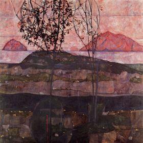 Podziemne Słońce, Egon Schiele - magnes