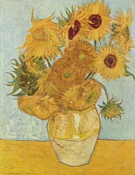 Słoneczniki, Vincent Van Gogh - magnes