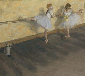 Tańczące baletnice, Edgar Degas - magnes