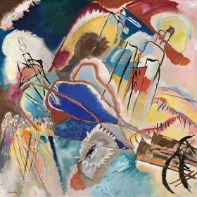 Improvisation No. 30 (Cannons), Vasily Kandinsky - magnes