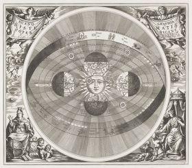 Mapa nieba Copernicus - plakat 40x35 cm