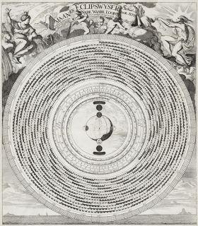 Punkt zaćmienia Księżyca - plakat 40x35 cm