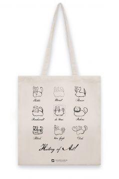 Torba lniana – Koty art