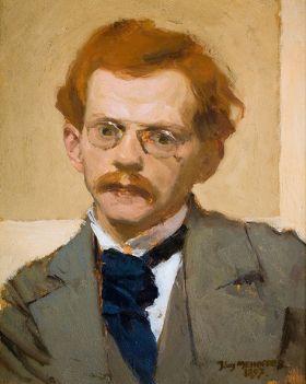 Autoportret  - Józef Mehoffer - reprodukcja