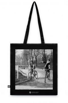 Torba organiczna - Dziewczyny na rowerach