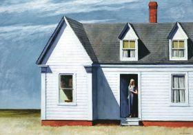 Samo południe - Edward Hopper - reprodukcja