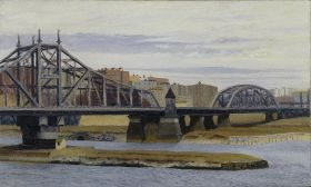 Most Dam Macombs - Edward Hopper - reprodukcja