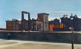 Pętla mostu Manhattan  - Edward Hopper - reprodukcja