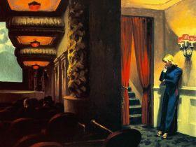 Kino w Nowym Jorku - Edward Hopper - reprodukcja
