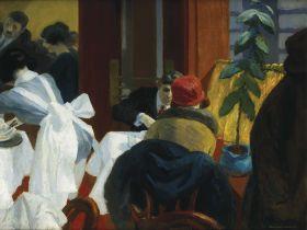 Restauracja w Nowym Jorku - Edward Hopper - reprodukcja