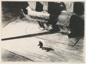 Nocne cienie - Edward Hopper - reprodukcja