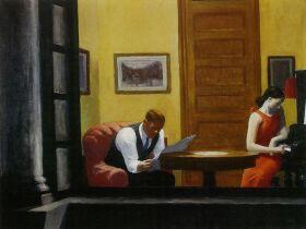 Pokój w Nowym Jorku - Edward Hopper - reprodukcja