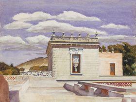 Saltillo Mansion  - Edward Hopper - reprodukcja