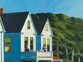 Second Story Sunlight  - Edward Hopper - reprodukcja