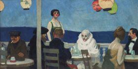 Niebieski wieczór  - Edward Hopper - reprodukcja