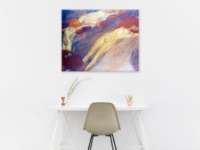 Ruchoma woda - Gustav Klimt - reprodukcja