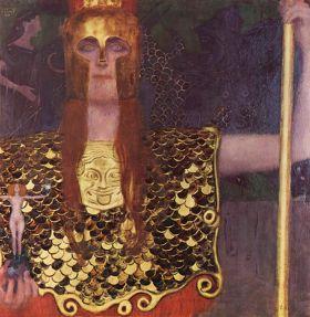 Pallas Atena Gustav Klimt - reprodukcja