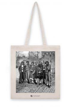 Torba lniana - Dziewczyny z karabinami