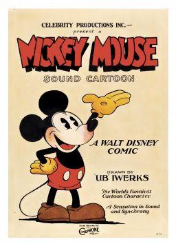 Mickey Mouse - kartka premium