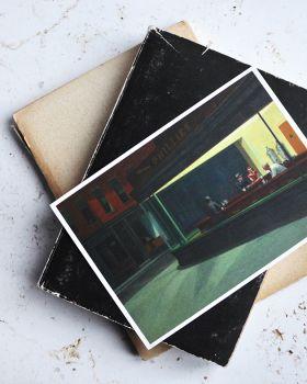Nighthawks, Hopper - kartka premium