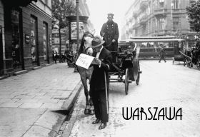 Kartka pocztowa - Dorożkarz