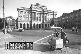 Kartka pocztowa - Woda sodowa, Warszawa