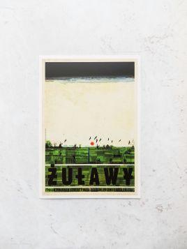 Kartka pocztowa - Żuławy (Polska Szkoła Plakatu)