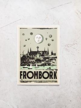 Kartka pocztowa - Frombork (Polska Szkoła Plakatu)
