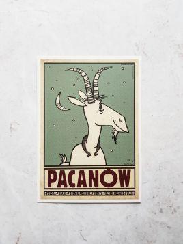 Kartka pocztowa - Pacanów (Polska Szkoła Plakatu)