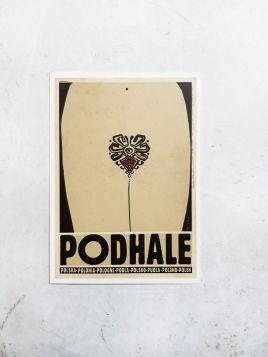 Kartka pocztowa -  Podhale (Polska Szkoła Plakatu)