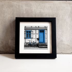 Passe-partout - Niebieski rower