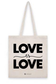 Torba lniana - Love is Love