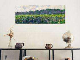 Claude Monet Field of Yellow Irises