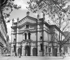 Synagoga Tempel - plakat