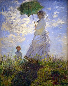 Claude Monet Umbrella