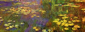 Claude Monet Nympheas Water Plantes